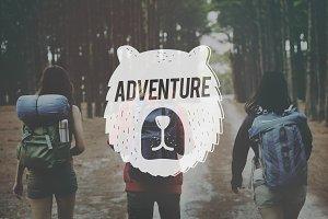 Friends on an adventure