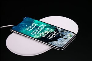 iPhone X Display Mock-up #15