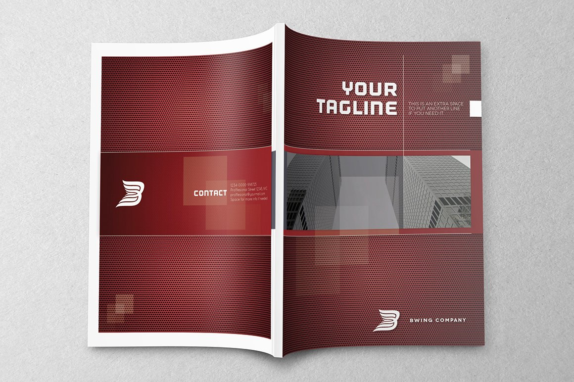 Elegant brochure template brochure templates creative for Elegant brochure templates