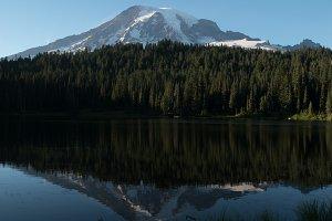 Mount Rainier in Reflection Lake