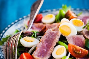 Tuna salad ( Nicoise)