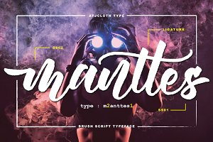 Manttes Typeface Update (30% off)
