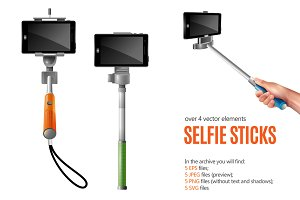 Selfie Sticks Set