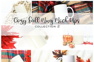 Cozy Fall Mug Mock Ups | Coll. 2