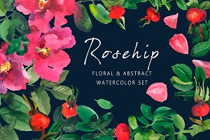 Rosehip - Floral & Abstract Set