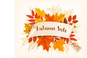 Autumn Sales Card