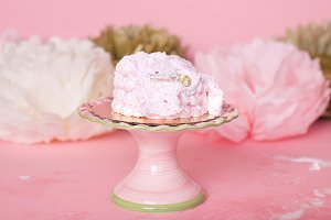 Pink and Gold Girly Cake Smash