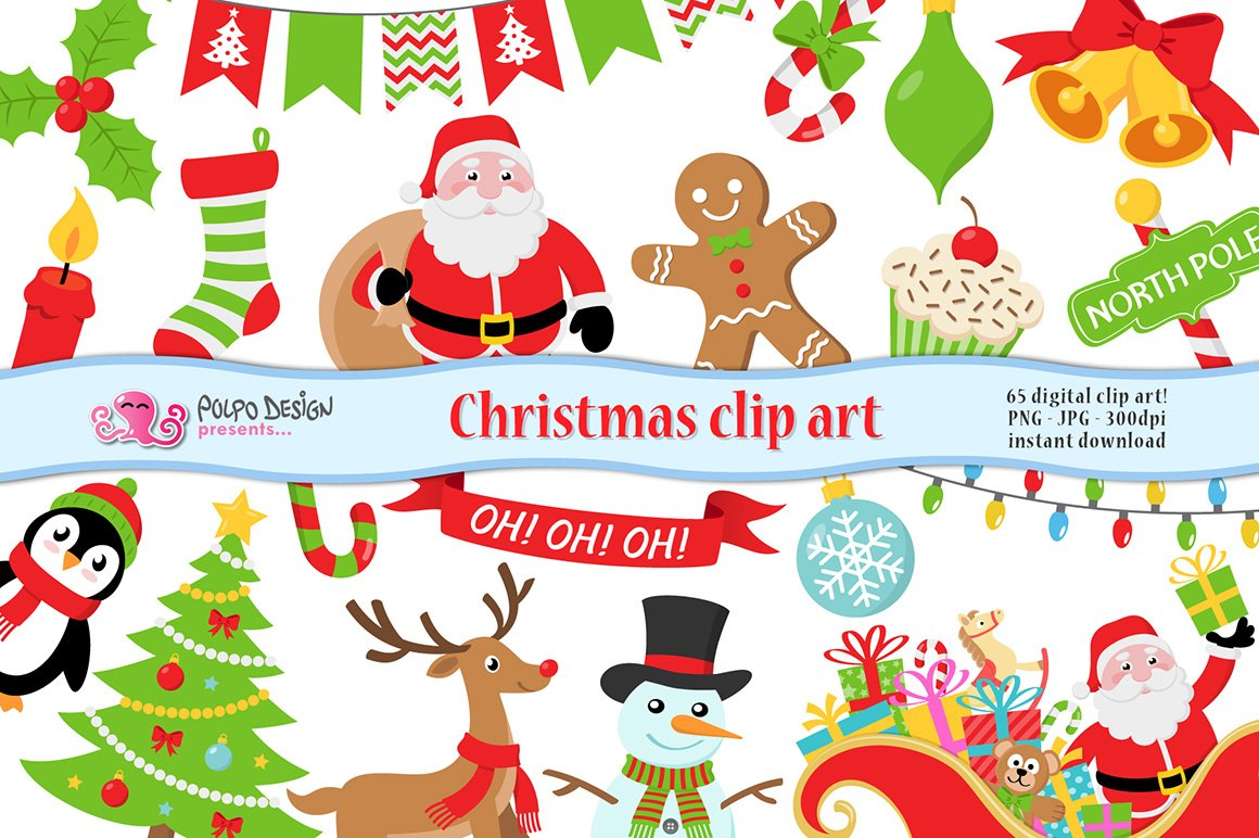 Christmas clipart ~ Objects ~ Creative Market