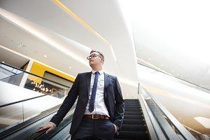 Smart looking businessman
