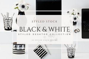 Styled Desktop Black & White