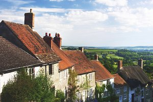 Golden hill in UK