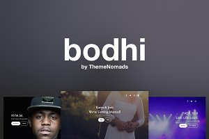 Bodhi – One Page Wordpress Theme