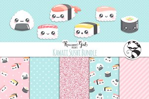 Kawaii Sushi Bundle Set