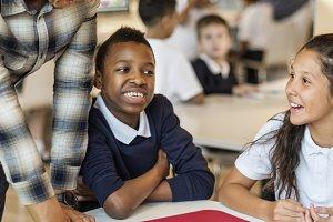 Diverse classroom