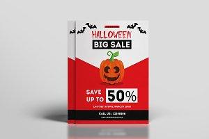 Halloween Sale Flyer-V623