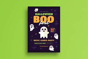 Halloween Boo Festival Flyer