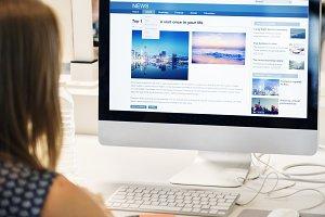 Checking life goal online