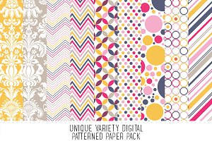 Indian Summer Pattern Paper Pack
