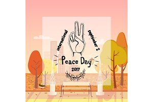 International Peace Day Poster 21 September 2017