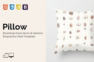 Pillow - Home Decor Html Template