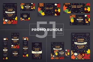 Promo Bundle | Thanksgiving Party