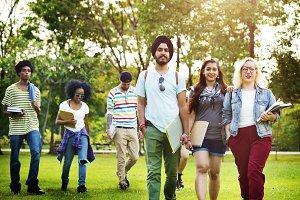 Diverse Teen Friends
