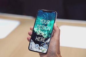 iPhone X Display Mock-up #19