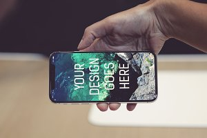 iPhone X Display Mock-up #20