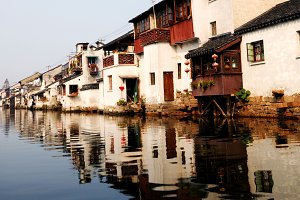 Venice of the East Suzhou China