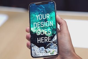 iPhone X Display Mock-up #23