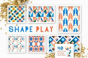 Shape Play Geometric Patterns