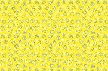 Valentine seamless patterns bundle