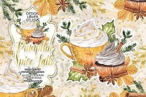 Pumpkin Spice Latte design