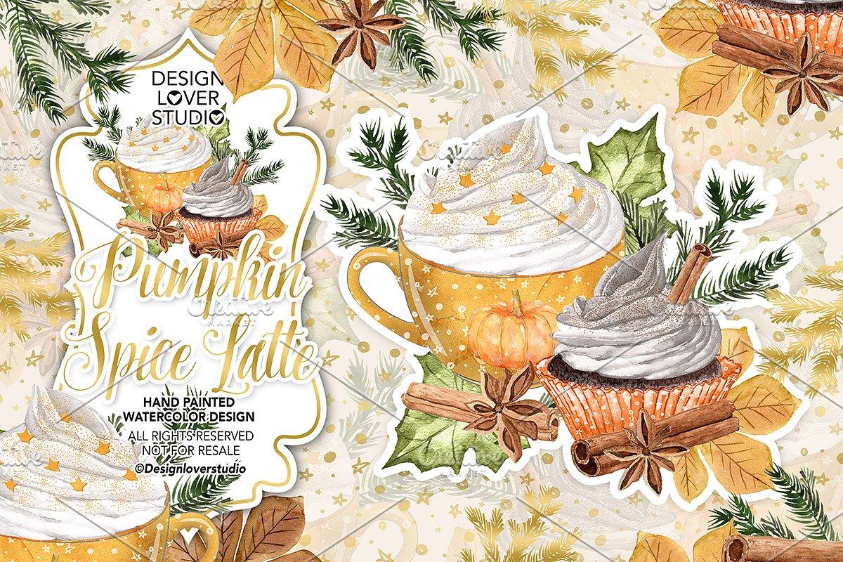 Pumpkin Spice Latte design