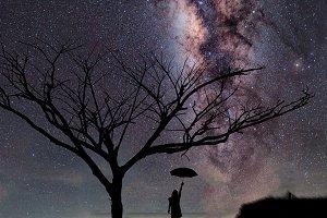 milky way galaxy,