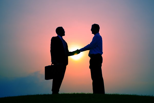 Business Handshake Greeting Deal