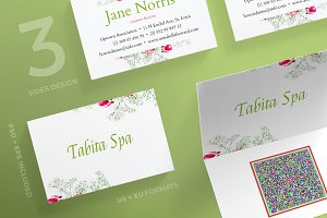 Business Cards | Tabita Spa