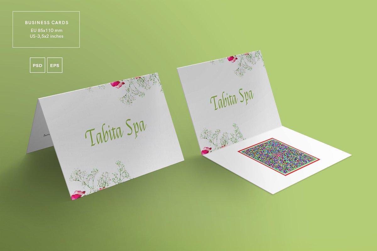Business Cards   Tabita Spa