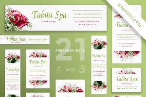 Banners Pack | Tabita Spa