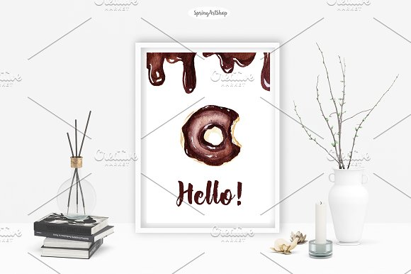 Chocolate & Biscuits clipart in Illustrations - product preview 4