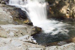 Cube waterfall in the Selva de Irati