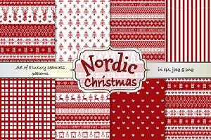 Nordic Fairisle Christmas Patterns