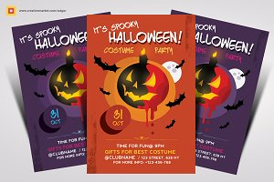 Halloween Flyer Vol 3