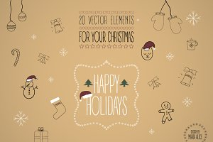 Christmas Vector Elements