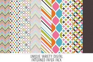 Bright Pattern Paper Pack