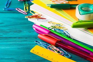 Stationery colorful school writing tools pens