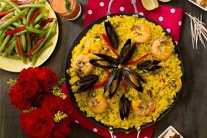 Spanish food, Paella