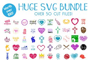 SVG Mega Bundle Collection