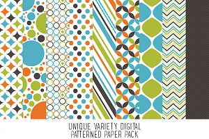 Boy Pattern Paper Pack
