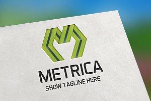 Metrica (Letter M) Logo